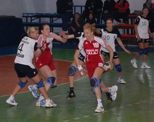 HC Zalău s-a impus la Craiova în faţa a 4.000 de spectatori