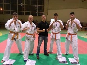 Patru medalii pentru karateka de la CS Vidalis Zalău
