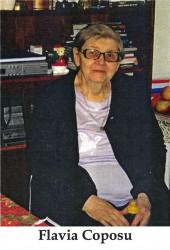 Flavia Coposu-Bălescu, la venerabila vârstă de 88 ani