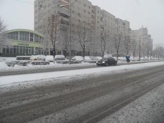 Sălajul sub greutatea zăpezii