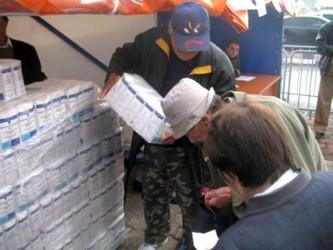Jumătate din localităţile Sălajului nu au primit alimentele de la UE