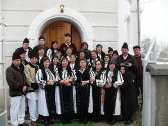 Colindători sibieni la Stîrciu