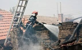 Incendiu provocat de o persoană necunoscută