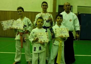 """Karateka de la CS Porolissum, pe podium la Cupa """"Fudoshin"""""""