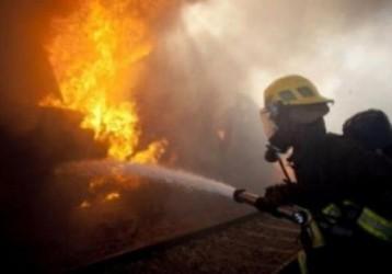 Incendiu la o hală de dezmembrări auto