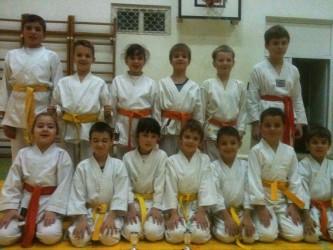 Karateka de la CS Terra Kid, pe podium la Oradea
