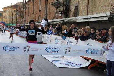 Simona Maxim, locul I la semimaratonul de la Pisa