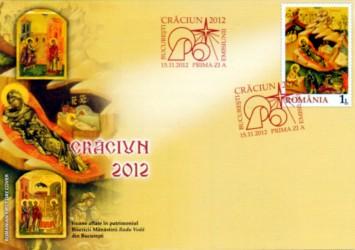 Noutăţi filatelice: CRĂCIUN 2012