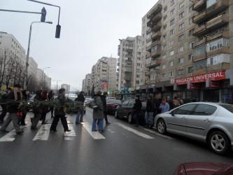 Trafic de coşmar pe străzile din Zalău