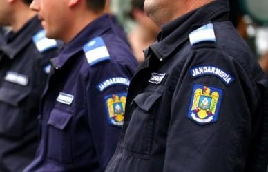 Elevi în practică la Jandarmeria Sălaj