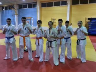Karateka de la CS Vidalis, trei zile de pregătire centralizată la Oradea
