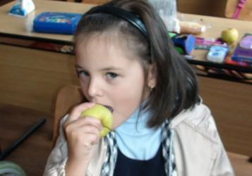Elevii sălăjeni primesc aproape 2 milioane de mere