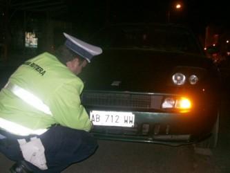 Cercetat penal pentru numere false în trafic