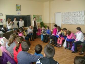 Elevii din Sălăjeni – interesaţi de protejarea mediului