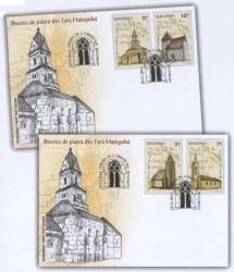 Noutăţi filatelice: Biserici de piatră din Ţara Haţegului