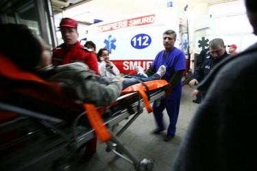 A ajuns în spital la câteva ore de la producerea accidentului