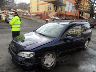 Accident grav lângă Tribunalul Sălaj
