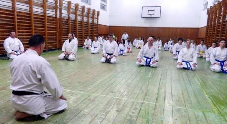 Stagiul Asociaţiei Nord Amical Karate