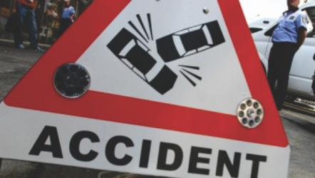 Trei accidente rutiere la final de săptămână