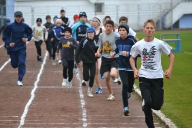 Liber la alergare pe Stadionul Municipal