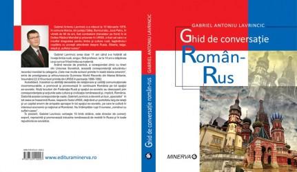 Sălăjeanul Gabriel Lavrincic a lansat un Ghid de conversaţie Român-Rus