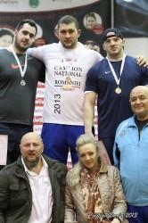 Guşet jr., medaliat cu bronz la Campionatul Naţional