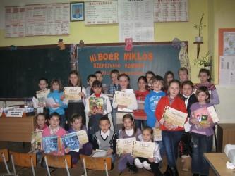 Elevii sălăjeni, premiaţi pentru citire expresivă