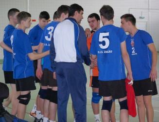 CSS Zalău s-a calificat la turneul semifinal de volei