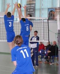 Juniorii de la CSS Zalău, calificaţi la turneul sfertfinal