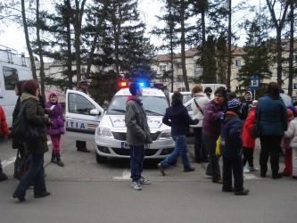 Sute de elevi, în vizită la Inspectoratul de Poliţie Judeţean Sălaj