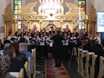 """Corul """"Magnificat"""", concert extraordinar la Şimleu Silvaniei"""