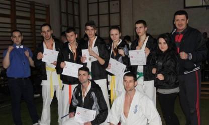 Karateka de la CS Murmidon Zalău, pe podium la Naţionale
