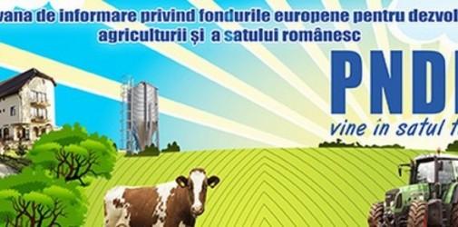 """Campania de informare """"PNDR vine în satul tău"""" a fost lansată"""
