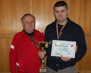 Premieră în boxul sălăjean: Adrian Popuţea, medaliat cu aur la Cupa României