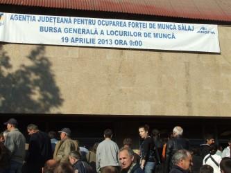La Bursa Generală a Locurilor de Muncă,      peste 270 de sălăjeni au fost selectaţi în vederea angajării