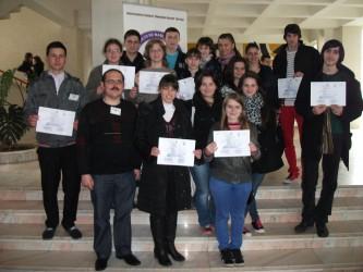 """Două premii şi şase menţiuni, obţinute de elevii sălăjeni la concursul """"Adolf Haimovici"""""""