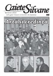 """A apărut numărul 99 al revistei """"Caiete Silvane"""""""