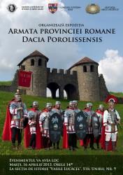 Armata romană, expusă la Muzeu