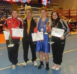 Pugilistele de la CSM Zalău, medaliate la Cupa României
