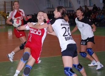 HC Zalău a pierdut la patru goluri în Capitală