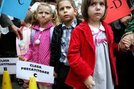 Aproape 84 la sută dintre copii au fost înscrişi, în prima etapă, în clasa pregătitoare
