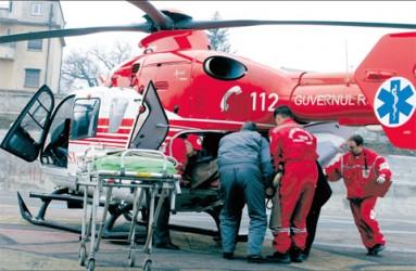 Elicopter SMURD, solicitat să intervină la Zalău
