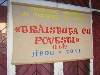 Festival al teatrului de păpuşi, la Jibou