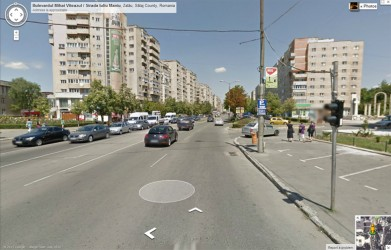 Şimleul şi Zalăul, puse pe harta Google Street View