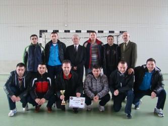 Pomiperii sălăjeni, calificaţi la faza regională a campionatului de futsal