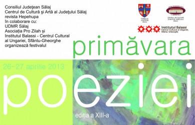 """La Zalău, începe """"Primăvara Poeziei"""" şi Festivalul Vinului"""