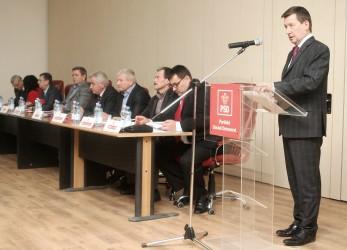 Tiberiu Marc a fost reales preşedinte al PSD Sălaj