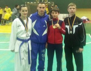 Zălăuanii de la Taekwondo, pe podium la Campionatul Naţional