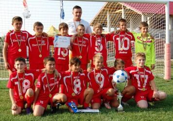 Viitorul Zalău, locul I la turneul internaţional de la Arad