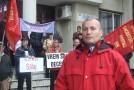 Zeci de protestatari au pichetat sediul Poştei sălăjene